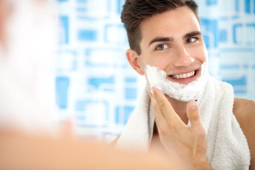 Ritual de beleza para homens