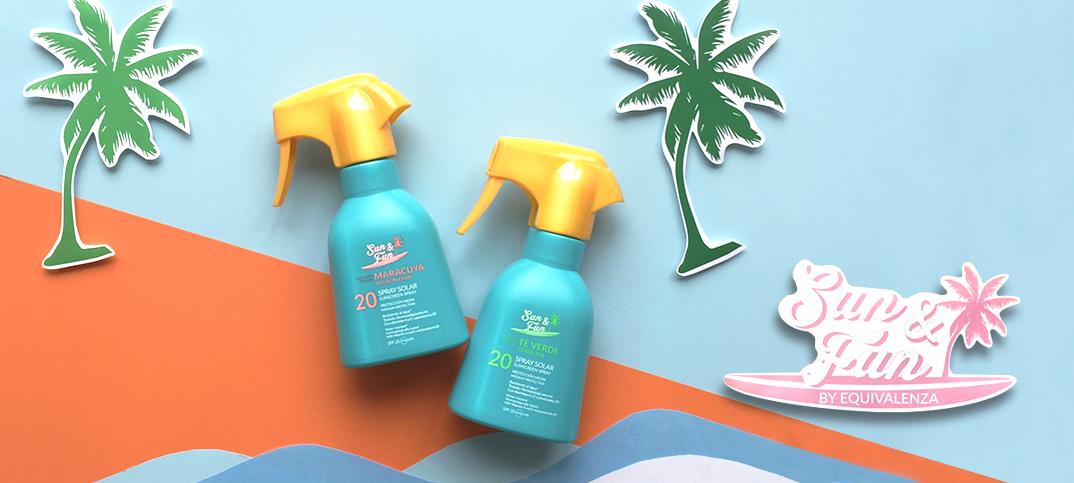 ¡Protege tu piel este verano con los nuevos aromas Sun&Fun!