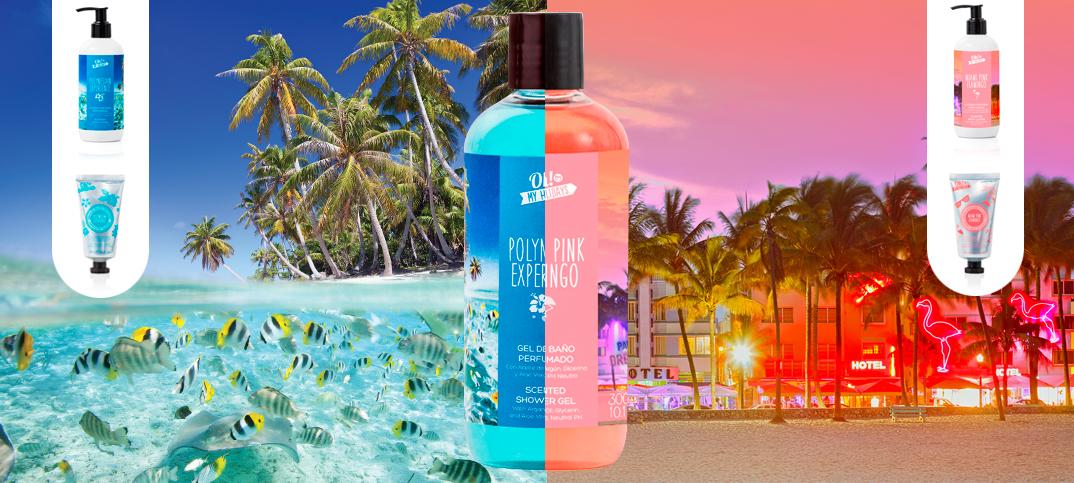 Viaja até Miami e à Polinésia, sem sair de casa