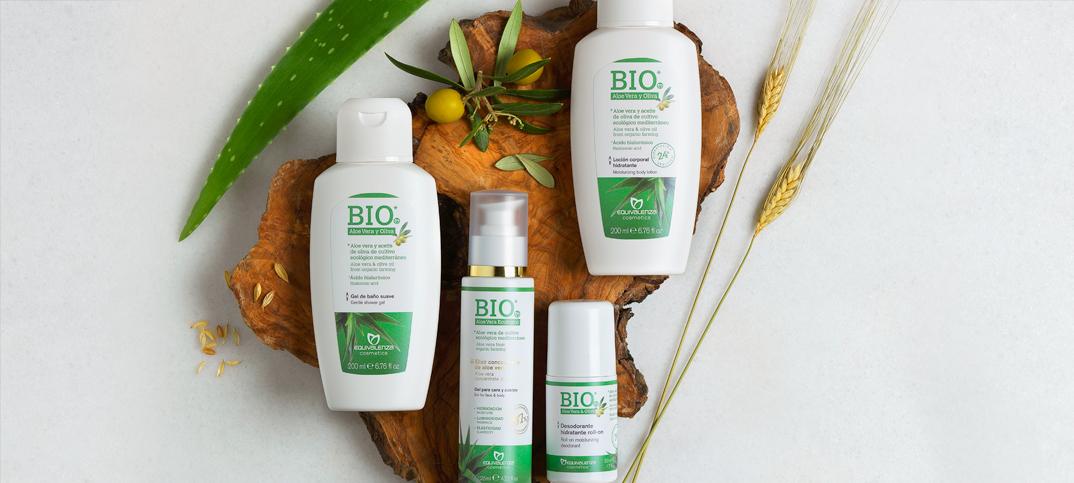 Novos produtos corporais da nossa gama BIO* aloe vera e azeitona