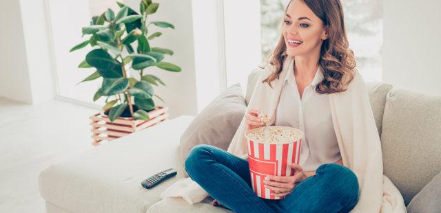 Mime-se enquanto assiste aos melhores filmes e séries