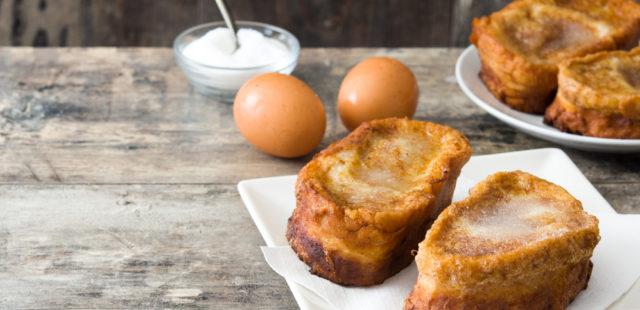 Las torrijas más tradicionales en 5 pasos
