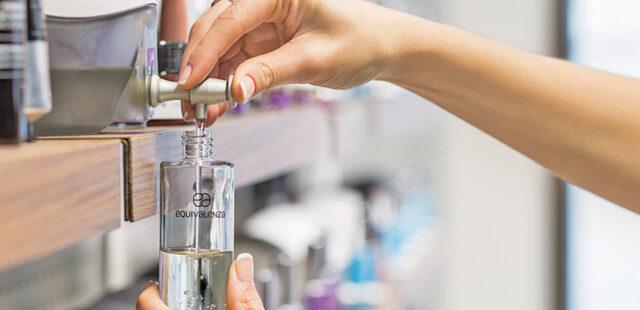 La perfumería a granel ayuda al medioambiente