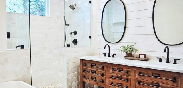 Apuesta por el minimalismo en tu baño